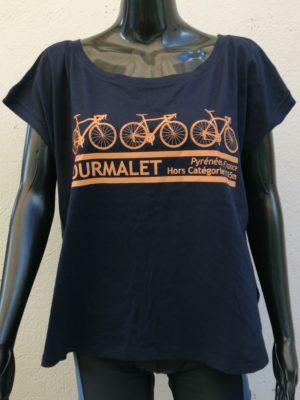 Womens 3 Bike Tourmalet T-Shirt