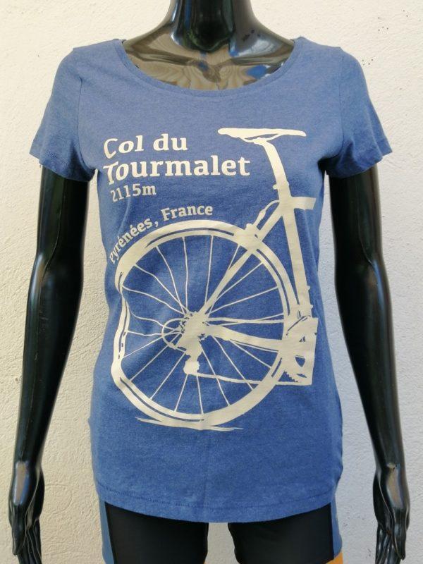 Ladies Tourmalet Tee Denim Blue