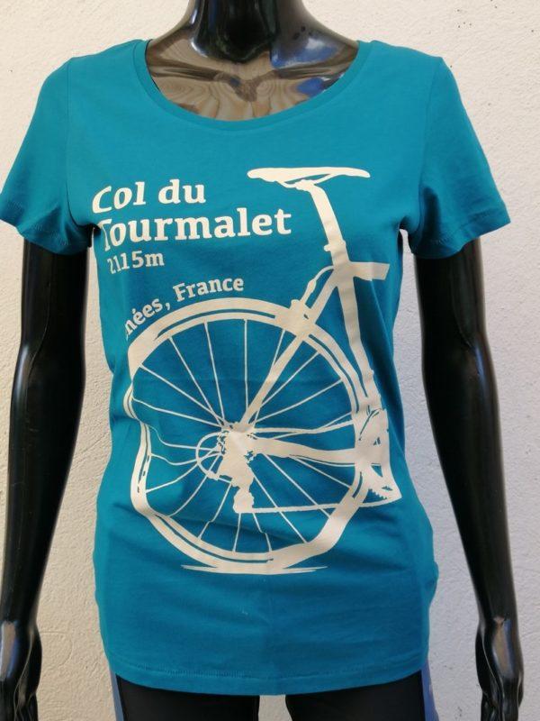 Ladies Tourmalet Tee Turquoise