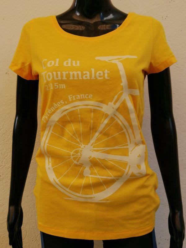 Ladies Tourmalet Tee Yellow