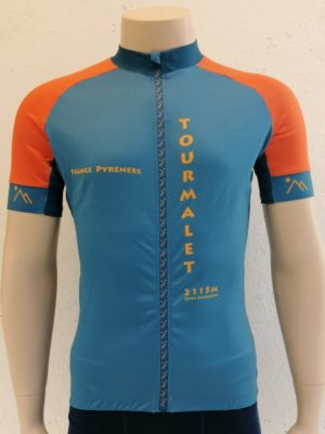 Mens Blue'n'Orange Tourmalet Jersey