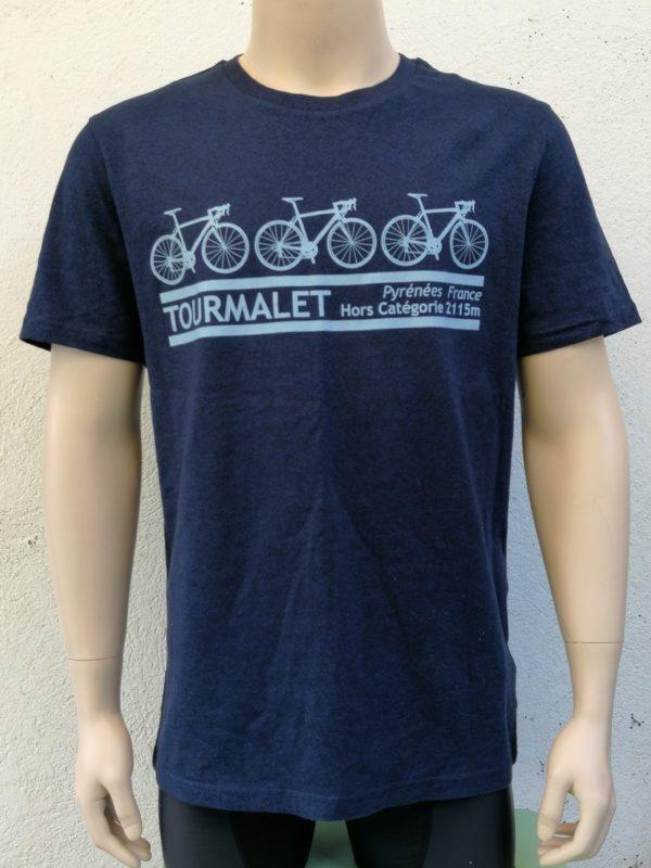 Mens Tourmalet 3 Bike Tee Blue