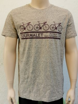 Mens 3 Bike Tourmalet T-Shirt