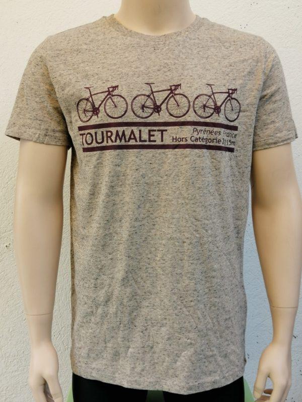 Mens Tourmalet 3 Bike Tee Ecru