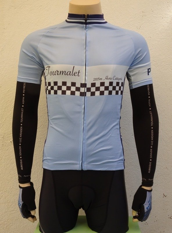 Mens Tourmalet Finish Line Jersey and Bib-shorts