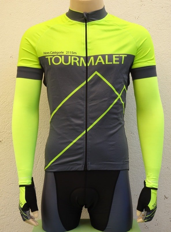Mens Tourmalet Flou Yellow Jersey and Bib-shorts