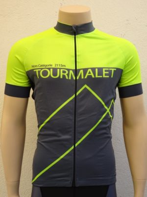 Mens Fluo Yellow Tourmalet Jersey