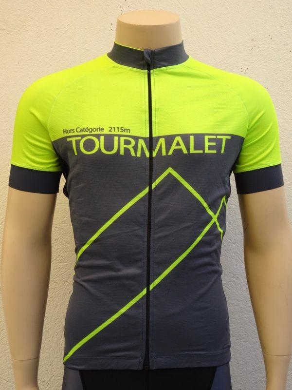 Mens Tourmalet Flou Yellow Jersey