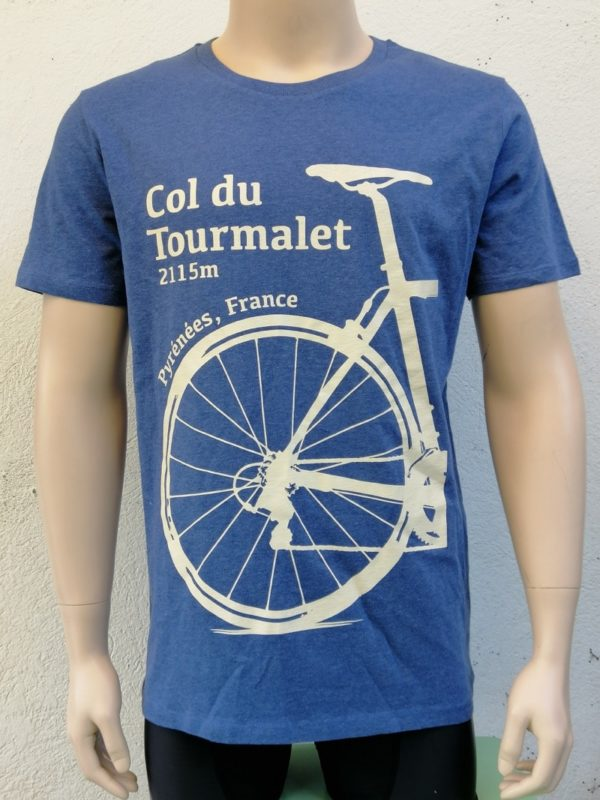 Mens Tourmalet Tee Denim Blue