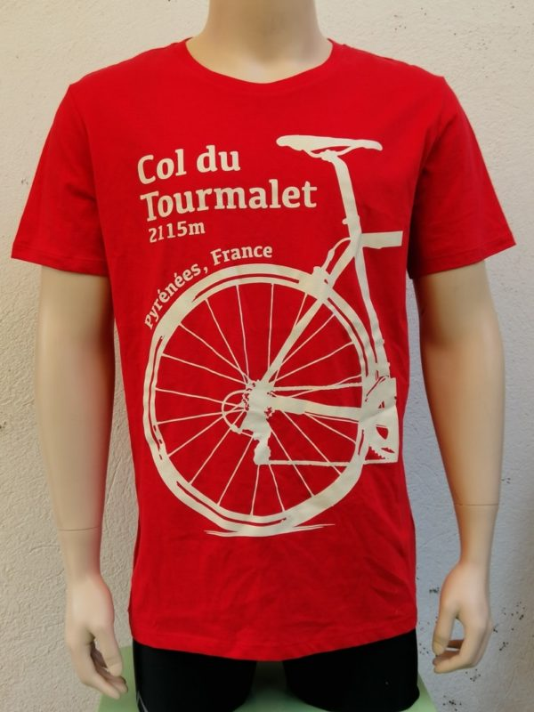 Mens Tourmalet Tee Red