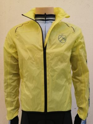 Yellow Hautes Pyrenees Rain Jacket