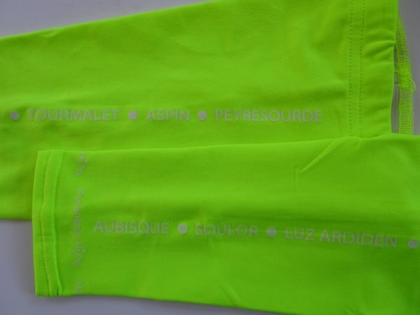 Armwarmers Cols Fluo Yellow