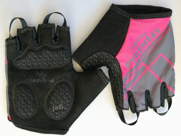 Hautes Pyrenees Gloves, Hot Pink