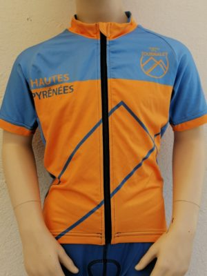 Kids Blue'n'Orange Tourmalet Jersey
