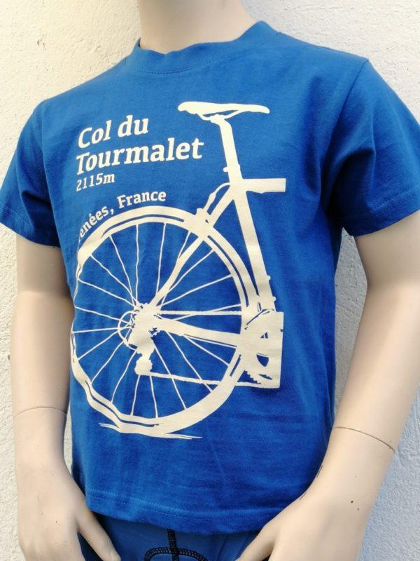 Kids Tourmalet T-Shirt Blue 2