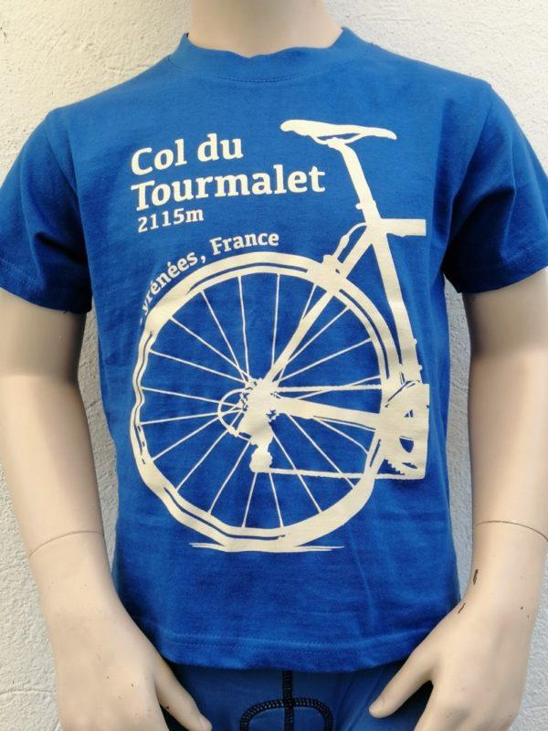 Kids Tourmalet T-Shirt Blue 1