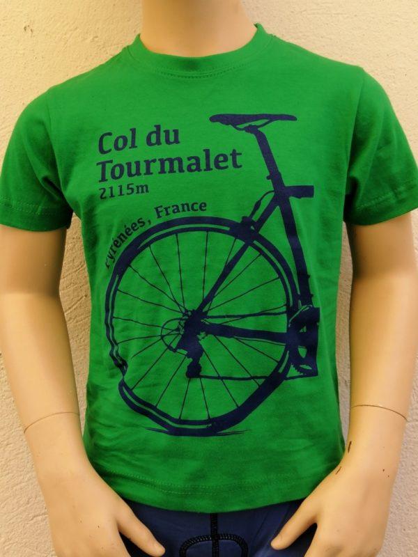 Kids Tourmalet T-Shirt Green 1