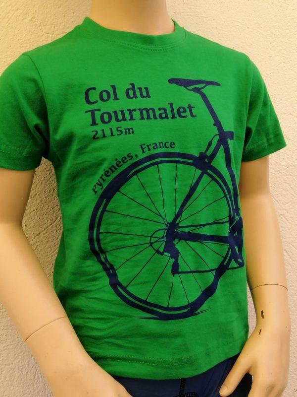 Kids Tourmalet T-Shirt Green 2