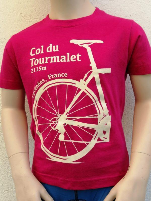 Kids Tourmalet T-Shirt Fuchsia 1