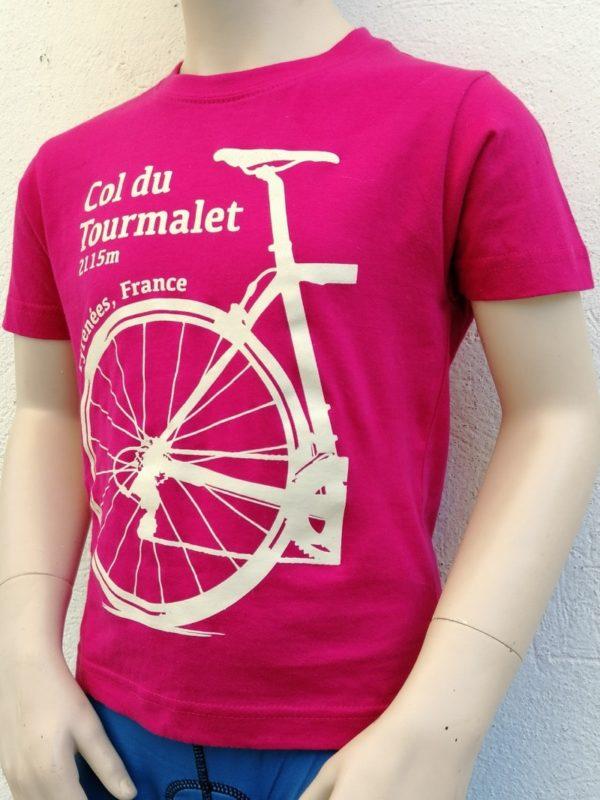 Kids Tourmalet T-Shirt Fuchsia 2