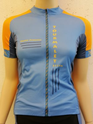 Womens Orange'n'Blue Tourmalet Jersey