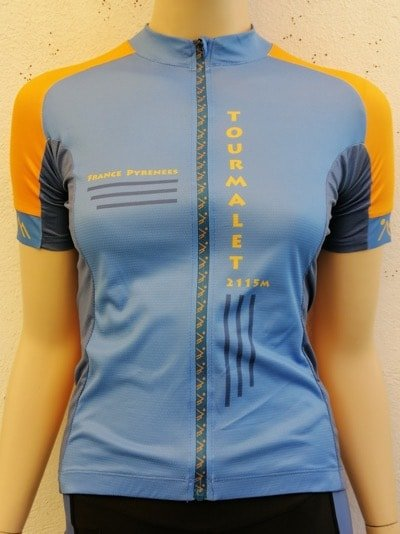 Ladies Orange and Blue Jersey
