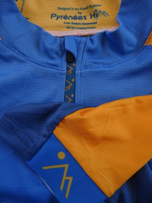 Ladies Orange'n'Blue Jersey Detail 1