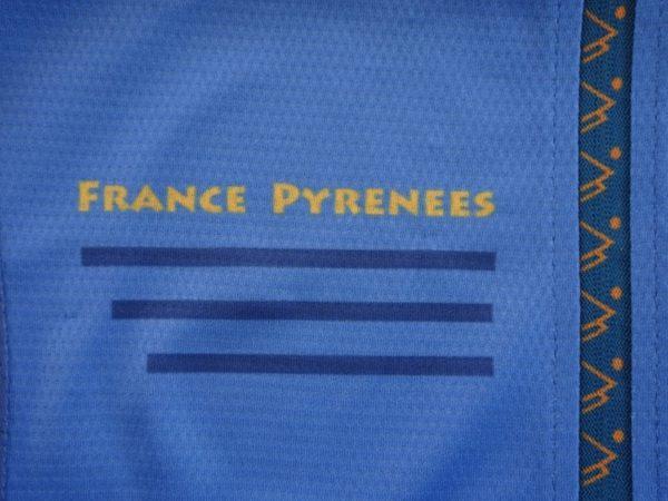 Ladies Orange'n'Blue Jersey Detail 2