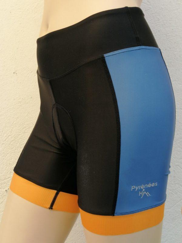 Ladies Orange'n'Blue Shorts 2