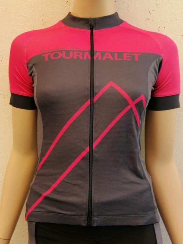 Ladies Fluo Pink Tourmalet Jersey 1