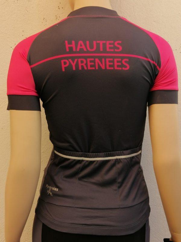 Ladies Fluo Pink Tourmalet Jersey 2