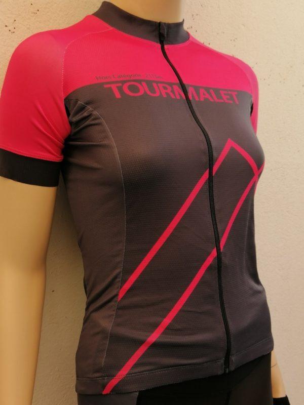 Ladies Fluo Pink Tourmalet Jersey 3