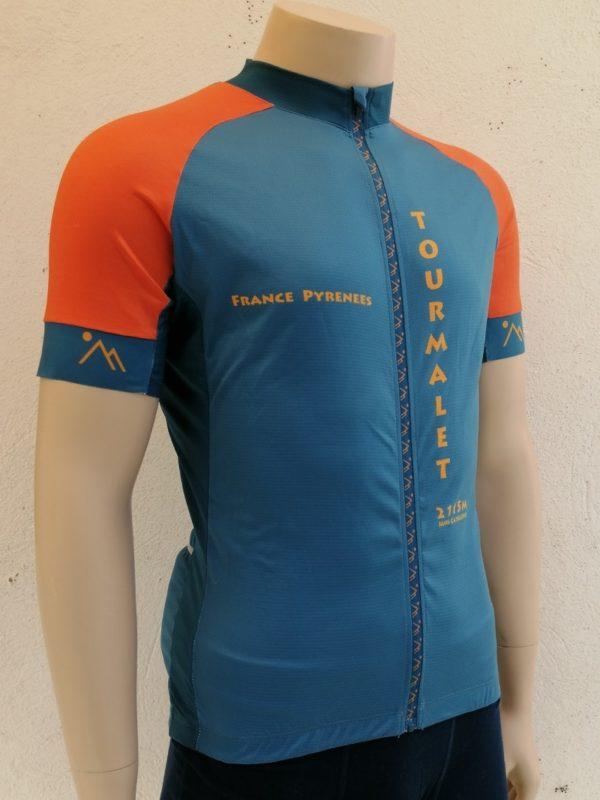 Mens Blue'n'Orange Jersey 3/4 Front