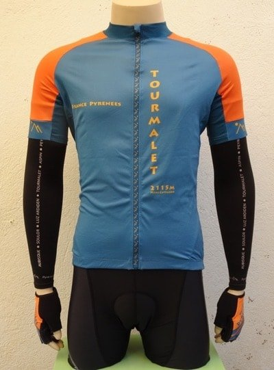 Mens Blue and Orange Set