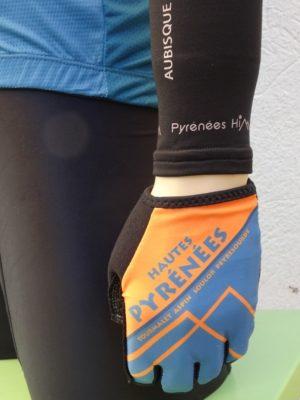 Hautes Pyrenees Blue'n'Orange Gloves