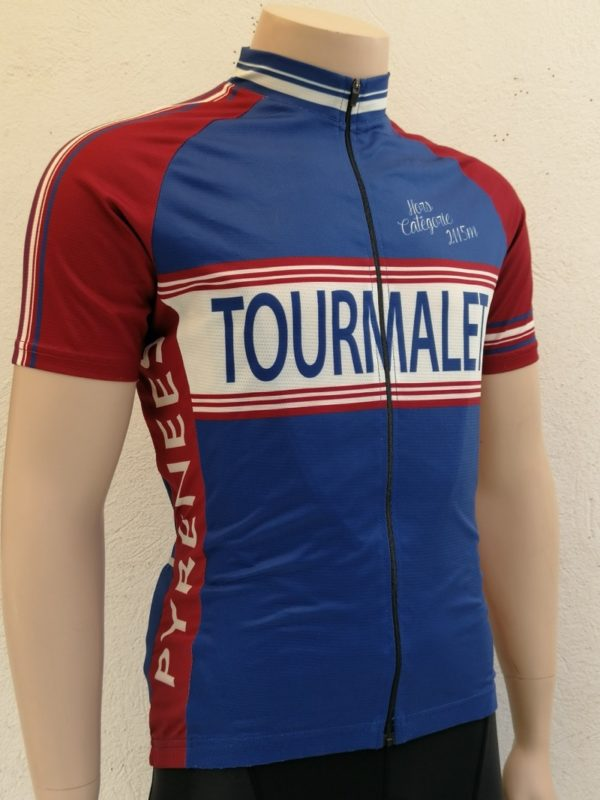 Mens Tourmalet Classic Jersey 3/4 Front