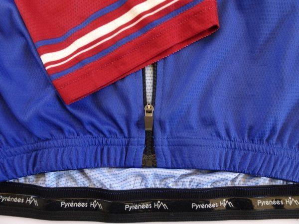 Mens Tourmalet Classic Jersey Detail