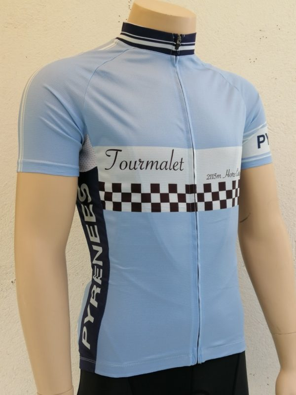 Mens Finish Line Tourmalet Jersey 3/4 Front