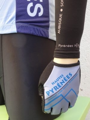 Hautes Pyrenees Blue'n'Grey Gloves
