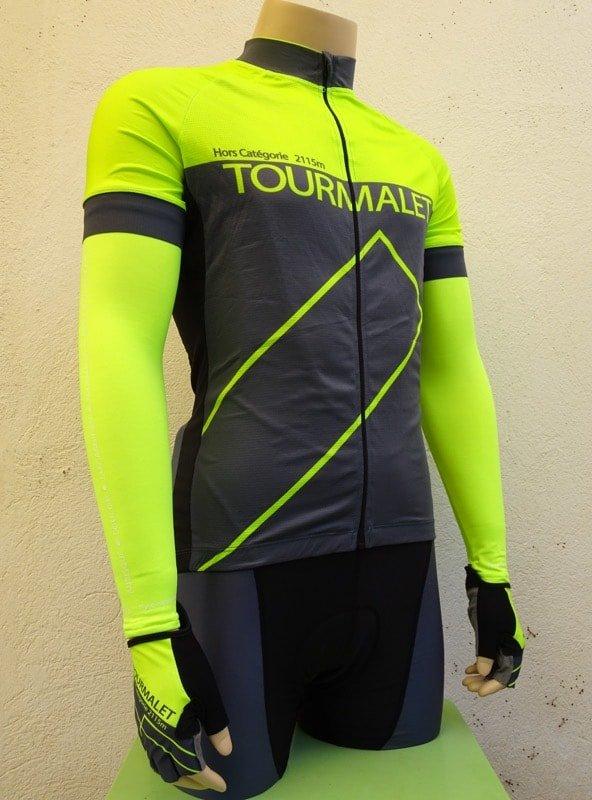 Mens Tourmalet Flourescent Yellow Set 2