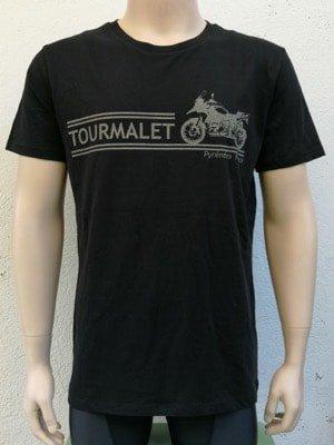 Mens Motorbike Tee Black