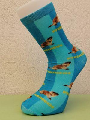 Pyrenees Marmotte Socks
