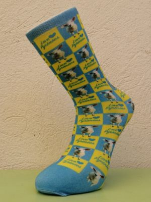 Pyrenees Sheep Socks